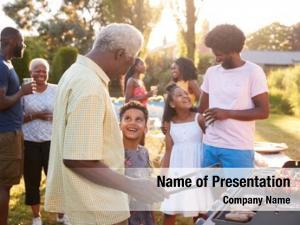 Talk grandad grandson grill family