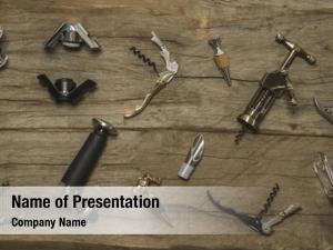 Copper wine antique corkscrew, multipurpose