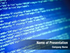 Web screens program code mouse