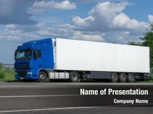 Road cargo truck