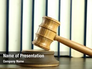 Stack judge gavel legal books