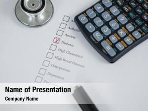 Health evaluation powerpoint template
