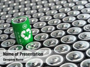 Concept battery recycling