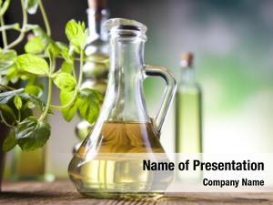 Oil carafe olive