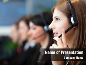 Center busy call operators modern