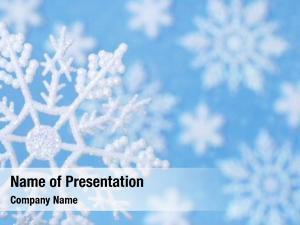 Macro snowflake design: snowflake ornament