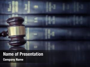 Concept legal law gavel desk