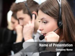 Operators call center work