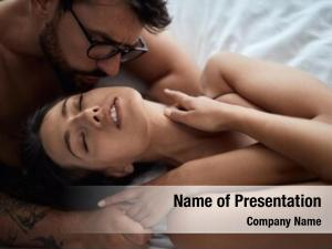 Bedroom moment ecstasy –young couple