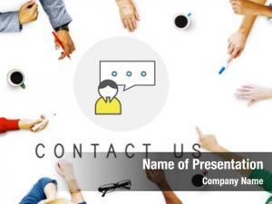 Businesswomen communication customer service