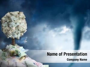 Tree conceptual money money pile