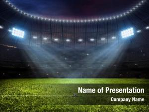 Soccer sport concept footbal stadium