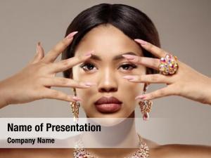 Skin beauty black woman african