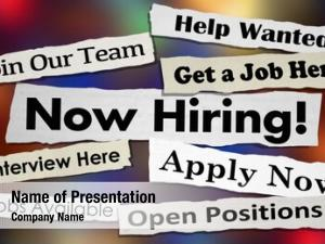 Jobs now hiring positions available