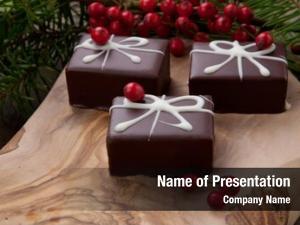 Chocolate traditional christmas candy, christmas