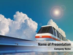 Monorail high speed train