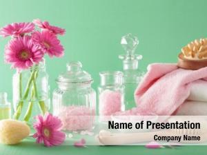 Spa aromatherapy with gerbera