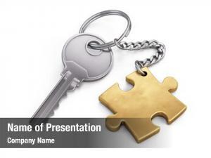 Puzzle golden key
