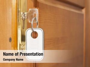 Lock key door