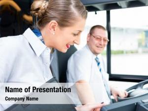 Driver bus coach tourist guide