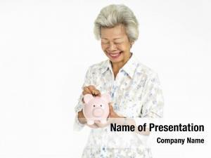 Retirement senior adult woman