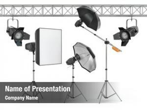 Equipment photo studio white
