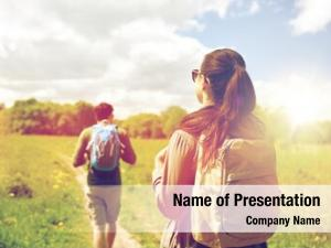 Tourism presentation background