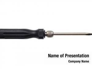 White screwdriver tool