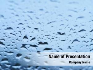 Drops blue water gradient background,