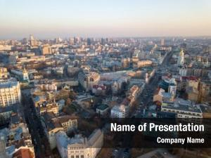 View panoramic aerial drone, view