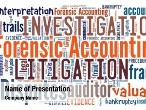 Word forensic accounting collage