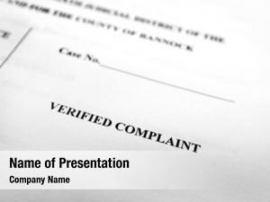 Complaint court documents filings legal