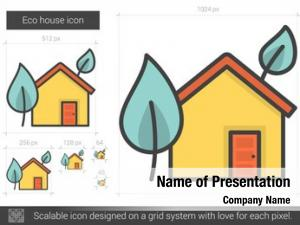 Eco house powerpoint template