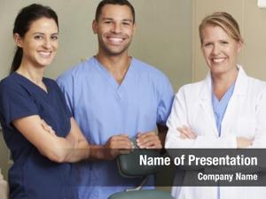 Dental portrait dentist nurses surgery