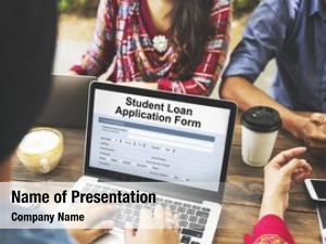 Application student loan form registration