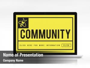 Connection community communication internet concept