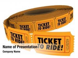 Words ticket ride roll orange