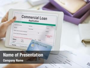 Commercial loan powerpoint background