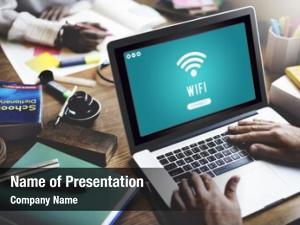 Connection internet wifi access hotspot