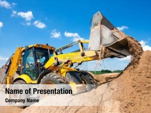 Site excavator construction