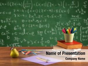 Calculation presentation template
