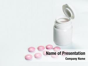 Medical close tablets bottle white