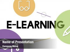 Education e learning distance icons interface