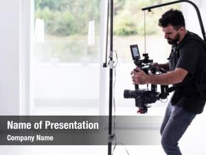Gimball professional videographer video slr