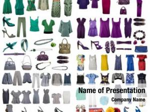 Clothes collection icons internet sites