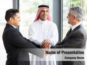 Global successful multicultural business team