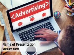 Webpage digital online advertising marketing