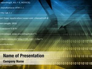 Logic web application internet background
