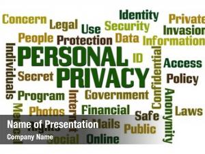 Word personal privacy cloud white