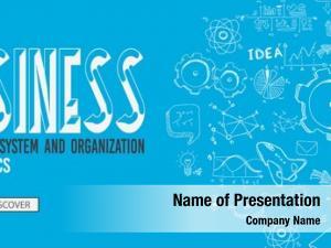 Concept business management doodle design